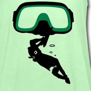 diving Mask T-shirts - Dame tanktop fra Bella