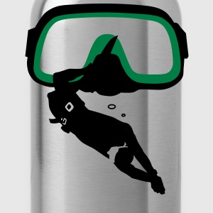 diving Mask T-Shirts - Water Bottle