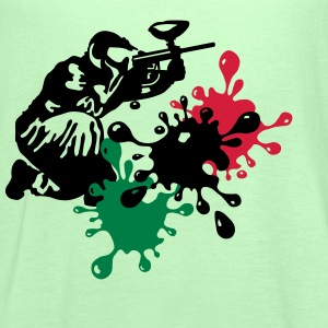 paintball T-Shirts - Women's Tank Top by Bella