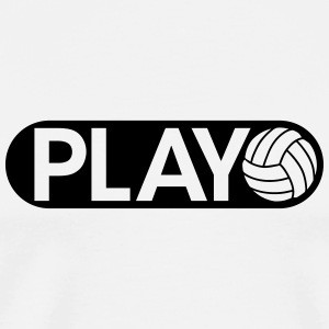 Play Volleyball Bouteilles et tasses - T-shirt Premium Homme