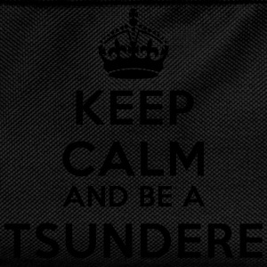 Keep calm and be a tsundere Tee shirts - Sac à dos Enfant
