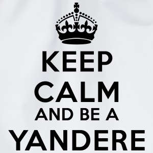 Keep calm and be a yandere Tee shirts - Sac de sport léger