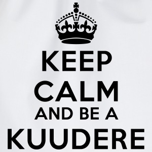 Keep calm and be a kuudere Tee shirts - Sac de sport léger