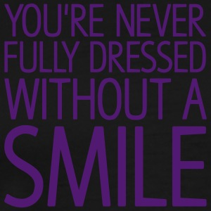 You're never fully dressed without a SMILE Hoodies - Men's Premium T-Shirt