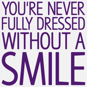 You're never fully dressed without a SMILE Buttons - Men's Premium T-Shirt