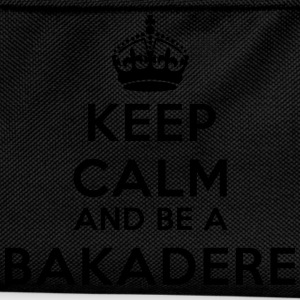 Keep calm and be a bakadere Tee shirts - Sac à dos Enfant