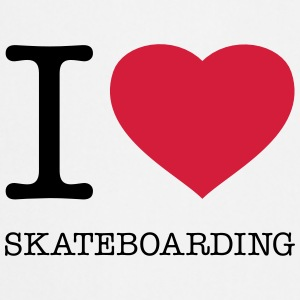 I ♥ SKATEBOARDING - Cooking Apron