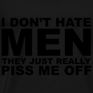 Hate Men Tröjor - Premium-T-shirt herr