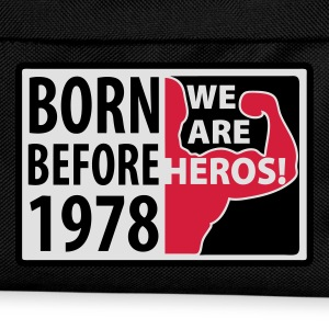 Born before 1978 - geboren vor 1978 T-Shirts - Kinder Rucksack