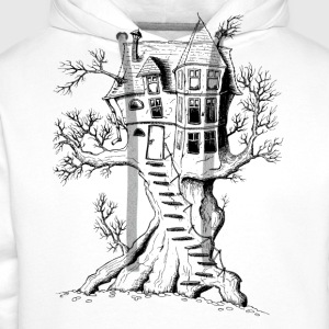 Treehouse T-Shirts - Men's Premium Hoodie