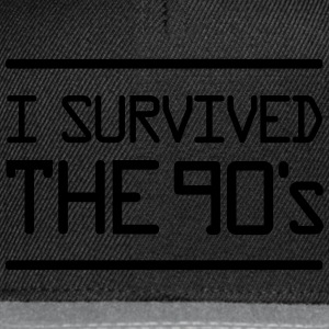 I Survived the 90´s Magliette - Snapback Cap