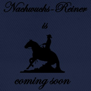 Nachwuchs-Reiner is coming soon Pullover & Hoodies - Baseballkappe