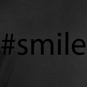 #smile Tee shirts - Sweat-shirt Homme Stanley & Stella