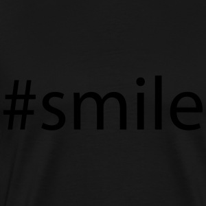 #smile Sweat-shirts - T-shirt Premium Homme