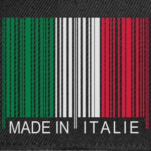 Code barre Made in Italie Tee shirts - Casquette snapback