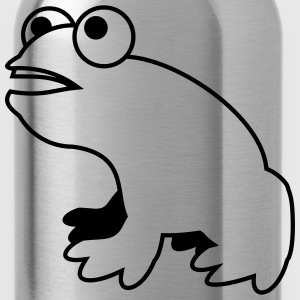 a frog 1c_o T-Shirts - Water Bottle