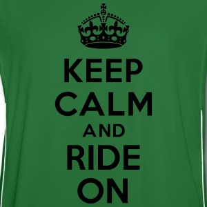 Keep calm and ride on horse Sweat-shirts - Maillot de football Homme