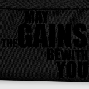 May the Gains be with you T-Shirt (Vector) - Kids' Backpack