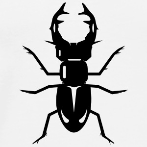 A stag beetle Buttons - Men's Premium T-Shirt