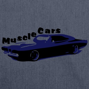 Muscle Car - Schultertasche aus Recycling-Material
