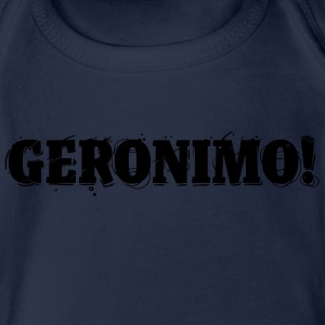 GERONIMO! Shirts - Organic Short-sleeved Baby Bodysuit