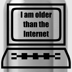 Older than the Internet T-Shirts - Trinkflasche