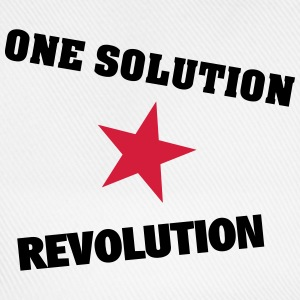 One Solution - Revolution - Baseballkappe