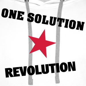 One Solution - Revolution - Männer Premium Hoodie