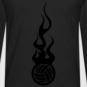 Volleyball Hoodies - Men's Premium Longsleeve Shirt
