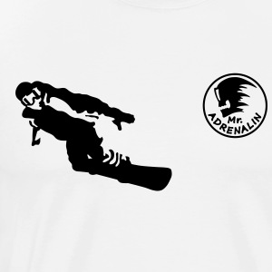 snowboarder Tee shirts manches longues - T-shirt Premium Homme