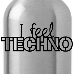 I Feel Techno T-shirts - Drinkfles