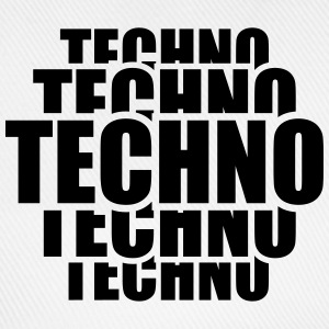 Cool Techno Pattern T-shirts - Baseballkasket