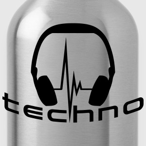 Techno Headphone Logo Tee shirts - Gourde