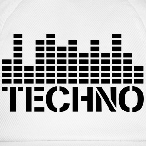 Techno Equalizer Logo T-Shirts - Baseball Cap