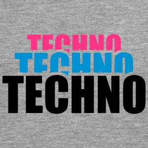 Cool Techno Design Tee shirts - T-shirt manches longues Premium Homme