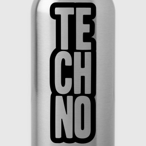Techno Music Design T-Shirts - Water Bottle