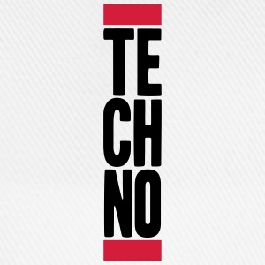 Techno Music T-shirts - Baseballkasket