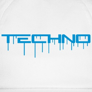Techno Graffiti T-shirts - Baseballkasket
