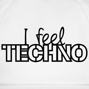 I Feel Techno T-shirts - Baseballkasket