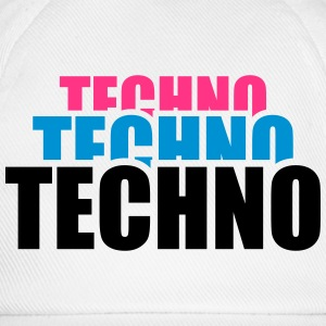 Cool Techno Design T-shirts - Baseballkasket