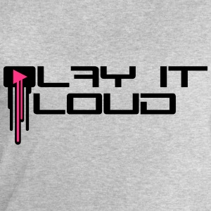 Play It Loud Music Logo T-Shirts - Men's Sweatshirt by Stanley & Stella