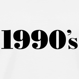 1990´s Hoodies & Sweatshirts - Men's Premium T-Shirt