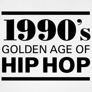 1990´s - Golden Age Of Hip Hop T-shirts - Baseballcap
