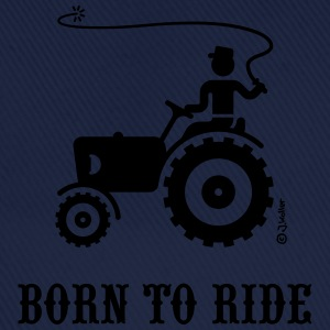 Born To Ride (Trecker) T-Shirt - Baseballkappe