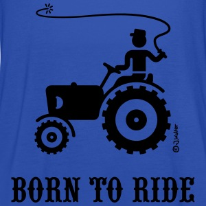 Born To Ride (Trecker) T-Shirt - Frauen Tank Top von Bella