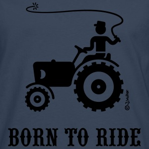 Born To Ride (Trecker) T-Shirt - Männer Premium Langarmshirt