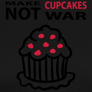 cupcakes not war  Aprons - Men's Premium T-Shirt