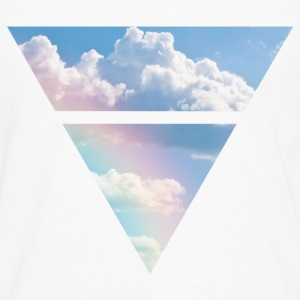 Triangle Clouds - Men's Premium Longsleeve Shirt