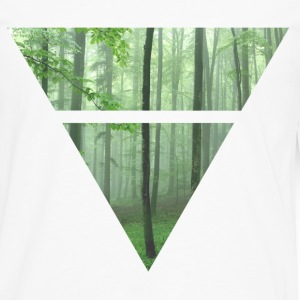 Triangle Trees - Men's Premium Longsleeve Shirt