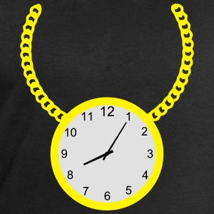 Necklace with clock T-Shirts - Men's Sweatshirt by Stanley & Stella